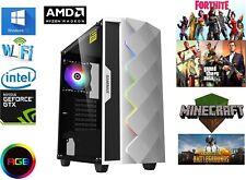 Gaming Computer PC i7-4790, 16GB RAM, 240gb SSD,HDD, GTX1650 ddr6 4GB v6.