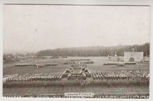 Military postcard - Grand Finale - Aldershot Tattoo Series (A73)