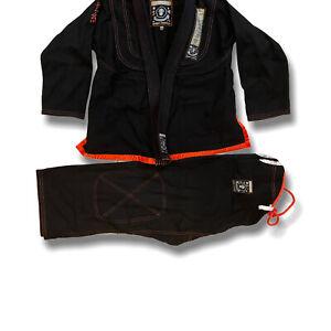 Century Spider Monkey Black Brazilian Jiu Jitsu Material Art Uniform Size M3