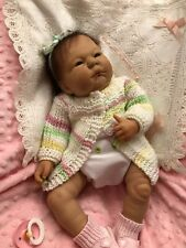 """New Listing Berenguer Baby Girl Doll rooted hair 19"""""""