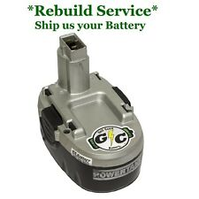 WORX PowerTank 18V WA3152 Battery UPGRADED REBUILD Service: Tenergy 2.2Ah NiCd