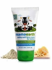 Mamaearth Milky Soft Natural Baby Face Cream for Babies 60 ml