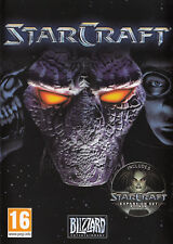 StarCraft with Brood War Expansion Pack PC Brand New Factory Sealed Blizzard