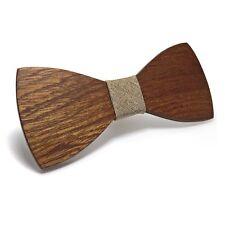 Elegant Wood Bow Tie - Wedding and Occasion Bowtie - Urban