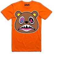 Men's Baws Orange Crazy Baws T-Shirt