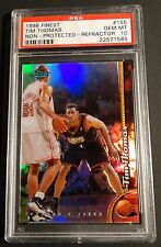 1998 TIM THOMAS FINEST NON PROTECTED REFRACTOR  #155 PSA 10  POP 1 (611)