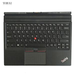 New/Orig Lenovo ThinkPad X1 Tablet Thin Keyboard US Backlit 01AW600 TP000820K1