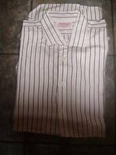 T.M.Lewin Striped Long Double Cuff Formal Shirts for Men