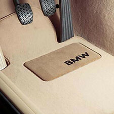 BMW OEM Beige Carpet Floor Mats Heel Pad 2004-2010 X3 2.5i 3.0si 82110305004