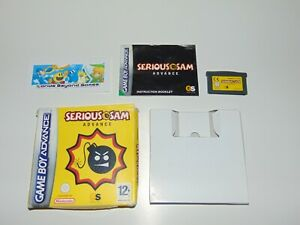 Serious Sam Advance   Nintendo Game Boy Advance GBA / DS   Complete
