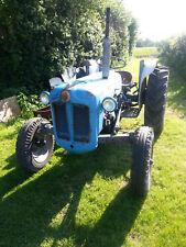 Fordson Dexta vintage tractor 1963 working condition.