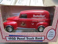 1950 Chevy Budweiser Panel Truck die cast bank