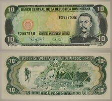REPUBBLICA DOMINICANA DOMINICAN REPUBLIC 10 PESOS ORO 1996 (PICK #153 a ) #B100
