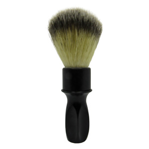 MM-400 Black Shaving Brush (24mm Synthetic Knot) - by Murphy and McNeil