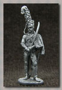 "Tin soldiers ""Napoleonic Wars"" (54 mm,1/32)# NAP 10 Prussia,Officer of hussar"