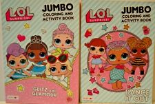 L.O.L. Suprise Jumbo Coloring and Activity Book set of 2