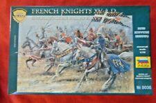 Zvezda Mounted French Knights XV Century 1/72 Scale