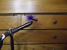 Jackson Cardinal Premium Flies- Purple Leach-Orange size 6 qty 12