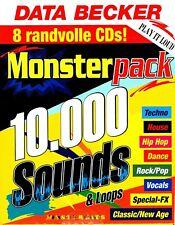 MasterBits / MONSTERPACK / 8 Sampling-CDs / 10.000 Sounds & Loops / CD-ROM / WAV