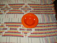 """RADIOACTIVE RED""   FIESTA ASHTRAY  -FIESTAWARE              -co19"