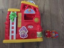 FISHER PRICE LAUGH AND LEARN MONKEY'S SMART STAGES FIREHOUSE