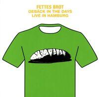FETTES BROT - GEBÄCK IN THE DAYS - LIVE IN HAMBURG 2016   CD+DVD NEW