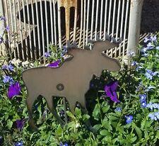 Metal Moose Garden Stake
