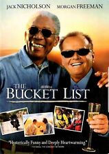 BUCKET LIST - JACK NICHOLSON & MORGAN  FREEMAN 2007 MOVIE DVD WIDE & FULL SCREEN