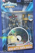 Power Rangers Lightspeed Rescue Titanium Mega Battle Power Ranger New w CD Rom