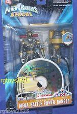 Power Rangers Lightspeed Rescue Titanium Mega Battle Power Ranger New w CD Rom