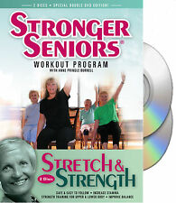 Chair Exercise DVD - Stronger Seniors Stretch & Strength- 2 disc Program