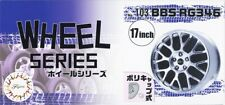 "Fujimi W-103 1/24 Scale Model Car Parts BBS RG346 17""inch Wheel & Tire Set"