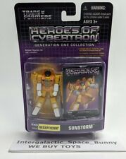 2004 Botcon SUNSTORM Transformers Heroes Of Cybertron Decepticon HOC ACT PVC