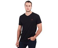 Polo Ralph Lauren Solid Pattern 100% Cotton T-Shirts for Men