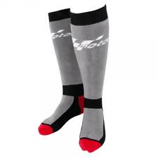 Course MotoGP chaussettes Boot pour moto RIDER Gris