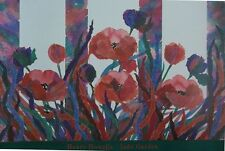 Henry howells imprimer, jade jardin - 93x64cm, original floral poster