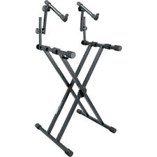 On-Stage Ks7491 - Professional Two-Tier Double-X-Style Keyboard Stand with Ergo