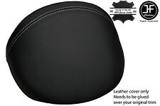 GREY  STITCH LEATHER DASH COWL HOOD COVER FITS MG MGF MG TF 1995-2005 STYLE 2