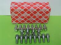 20 Stück Radschrauben,Gewindelänge22 mm Felgen-schrauben Radbolzen,Opel 05683-