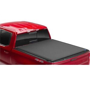 Lund 96892 Genesis Elite Black Truck Bed Roll Up Cover for Sierra/Silverado 1500