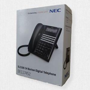 NEC SL1100/SL2100 SL2100 Digital 24-Button Telephone (BK) BE117452
