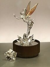 SWAROVSKI DISNEY LIMITED EDITION TINKERBELL on DEALER ONLY DISPLAY STAND mint