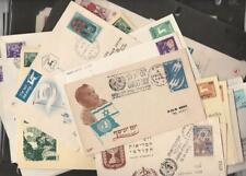 Israel Collection 38 Covers mostly 1950's Period First Day, Events ,Special pstm
