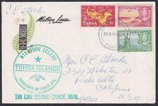 TONGA, 1966. Cover 101//105, Tin Can/Canoe, Palo Alto, Ca