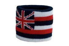 Schweißband Fahne Flagge USA Hawaii 7x8cm Armband für Sport