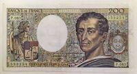 Billet De Banque 200 Francs Montesquieu De 1990 P.083 Voir Photos