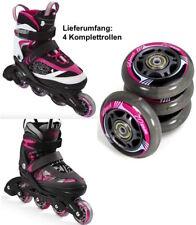 4x SPEED Inliner-Rollen 70 mm ABEC 5 Kugellager Inline-Skates Kinder pink 88116