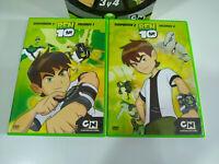 Ben 10 Temporada 2 Volumen 3 y 4 - 2 x DVD Español Ingles