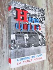 Héros olympiques. Les Français aux jeux. 1964.- Dédicacé