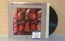 BACHMAN- TURNER OVERDRIVE II SIGNED BY RANDY BACHMAN SIGNED VINYL BECKETT C76579